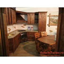 """Кухня под старину из массива дерева """"Истислава"""""""