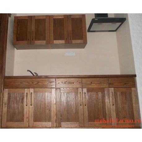 """Кухня под старину из массива дерева """"Сеславия"""""""