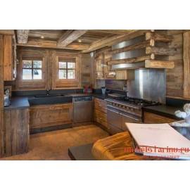 """Кухня под старину из массива дерева """"Смилна"""""""