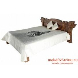 """Кровать под старину из массива дерева """"Солоха"""""""
