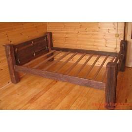 """Кровать под старину из массива дерева """"Франа"""""""