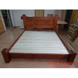 """Кровать под старину из массива дерева """"Харина"""""""