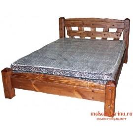 """Кровать под старину из массива дерева """"Хвалислава"""""""