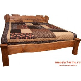 """Кровать под старину из массива дерева """"Хранимира"""""""
