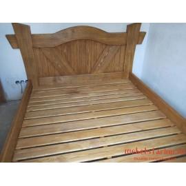 """Кровать под старину из массива дерева """"Цана"""""""