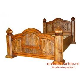 """Кровать под старину из массива дерева """"Цицилия"""""""
