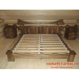 """Кровать под старину из массива дерева """"Часлава"""""""