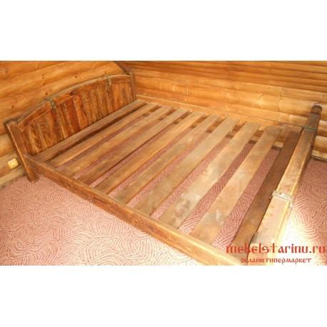 """Кровать под старину из массива дерева """"Частава"""""""