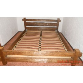 """Кровать под старину из массива дерева """"Чаяна"""""""