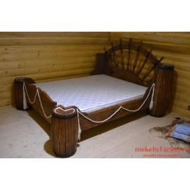 """Кровать под старину из массива дерева """"Чернава"""""""