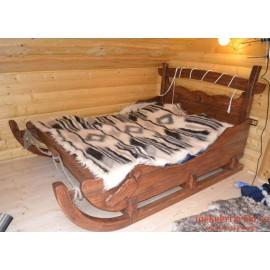 """Кровать под старину из массива дерева """"Честислава"""""""