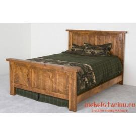 """Кровать под старину из массива дерева """"Чипрана"""""""