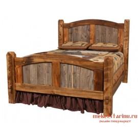 """Кровать под старину из массива дерева """"Чтава"""""""