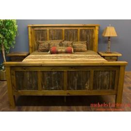 """Кровать под старину из массива дерева """"Шара"""""""