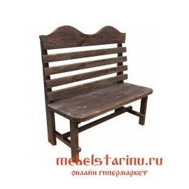 "Лавка под старину из массива дерева ""Бранислава"""