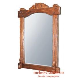 """Зеркало под старину из массива дерева """"Байко"""""""