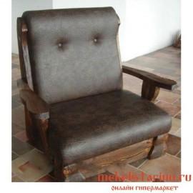 """Кресло под старину из массива дерева """"Дынко"""""""