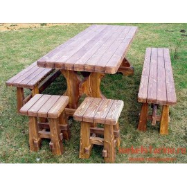 """Стол под старину из массива дерева """"Забог"""""""