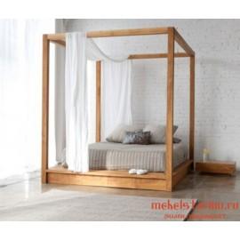 """Кровать под старину из массива дерева """"Весея"""""""