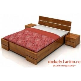 """Кровать под старину из массива дерева """"Вида"""""""