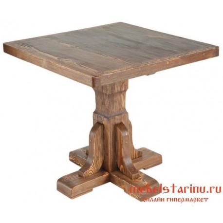 Стол под старину Попович квадратный