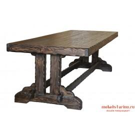 Стол под старину Богатырский