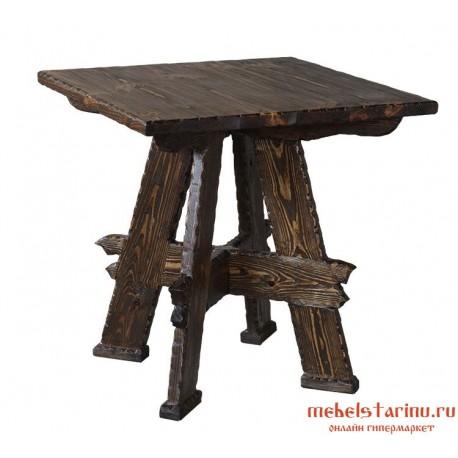 Стол под старину Соловей разбойник квадратный