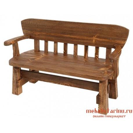 Кресло под старину Добрыня 2-х местное