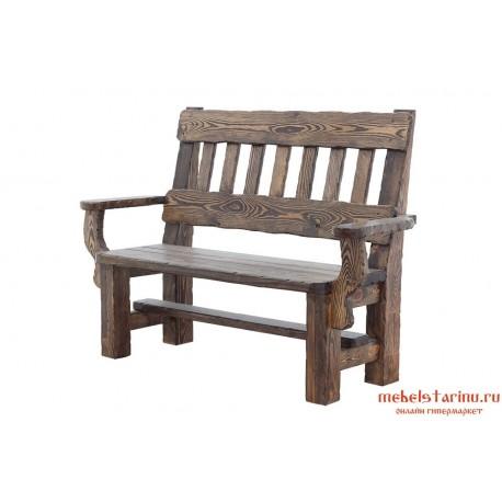 Кресло под старину Иван 2-х местное