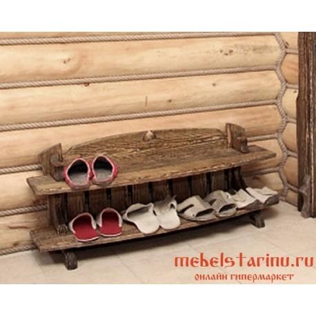 """Обувница под старину """"Микулишна"""""""