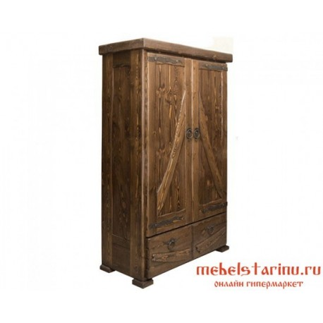 "Шкаф с ковкой под старину ""Попович"""