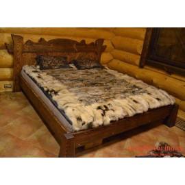 """Кровать под старину из массива дерева """"Азовка"""""""