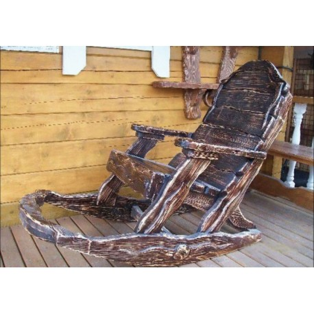 """Кресло под старину из массива дерева """"Блажко"""""""