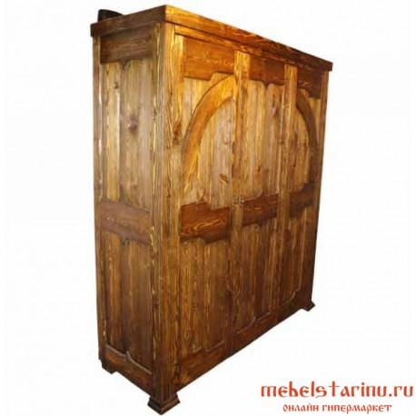 """Шкаф под старину из массива дерева """"Творимир"""""""