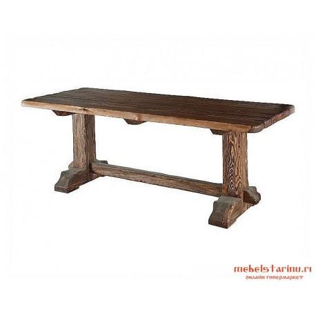 стол под старину из массива дерева велезвезд