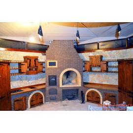 """Кухня под старину из массива дерева """"Гранислава"""""""