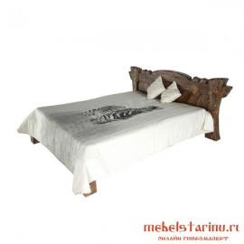 """Кровать под старину из массива дерева """"Едвига"""""""