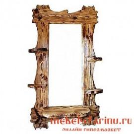 """Зеркало под старину из массива дерева """"Божко"""""""