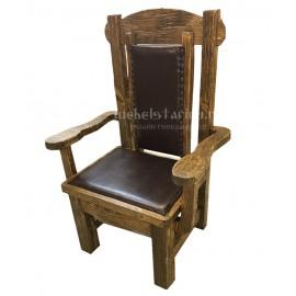 """Кресло под старину из массива дерева """"Гойко"""""""