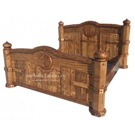 """Кровать под старину """"Касатка"""""""