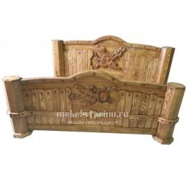 """Кровать под старину из массива дерева """"Мирина"""""""
