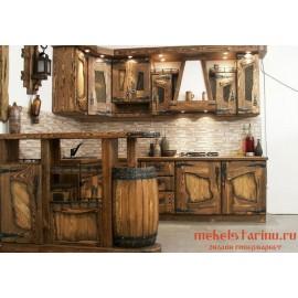 """Кухня под старину из массива дерева """"Дарена"""""""