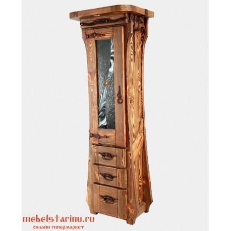 """Шкаф под старину из массива дерева """"Дарен"""""""