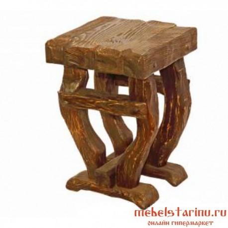 "Стул под старину из массива дерева ""Воротислав"""