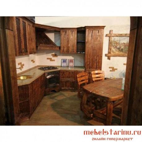 """Кухня под старину из массива дерева """"Звенислава"""""""