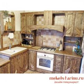 """Кухня под старину из массива дерева """"Радислава"""""""