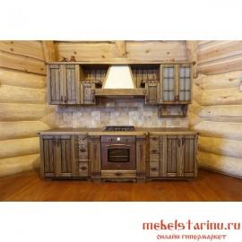 """Кухня под старину из массива дерева """"Рада"""""""