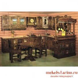 """Кухня под старину из массива дерева """"Станимира"""""""