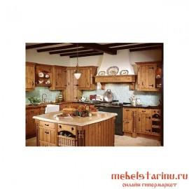 """Кухня под старину из массива дерева """"Светлозара"""""""