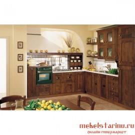 """Кухня под старину из массива дерева """"Мирослава"""""""